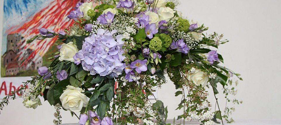 Schönes Blumenbukett zur Hochzeit