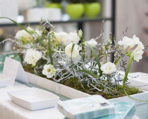 Tischschmuck-Ausstellung im BlumenGarten Marquardt in Renningen